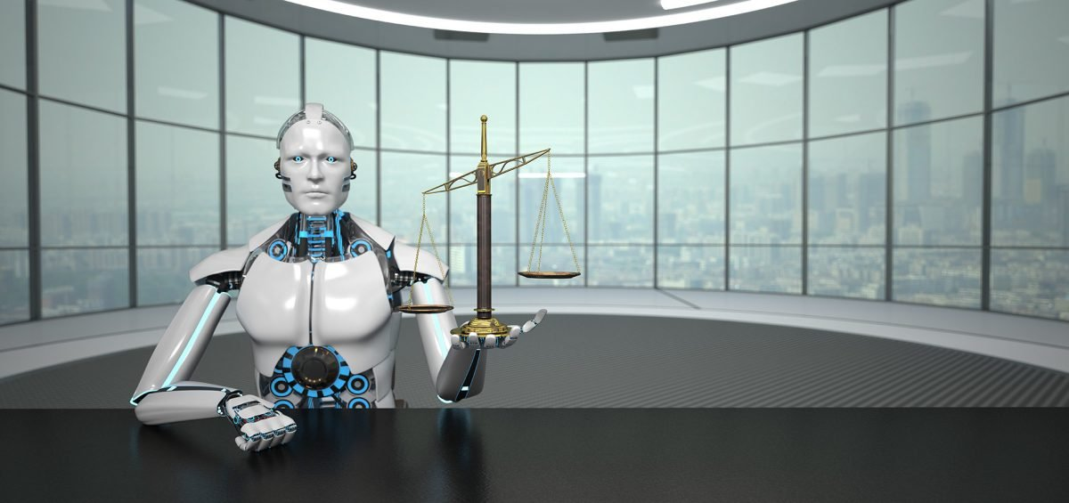 AI Legal Robot Image